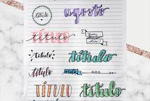 títulos para caderno
