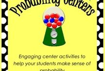 Upper Elementary / Probability Centers...my students will love these!   / by Jessie Jezwinski