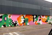 play school mural