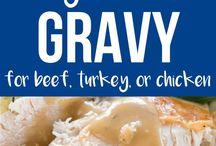 Sauces & Gravy's