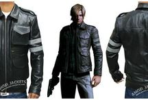 Leon Kennedy Resident Evil 6 / by Angel Jackets