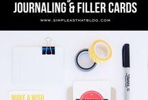 Journaling/Scrapbooking / by Natalie Blackwell