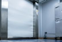 Industrial Doors For Clean Room / Industrial Closing System For Clean Room