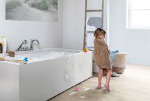 PVC in de badkamer / Pvc voor in de badkamer.