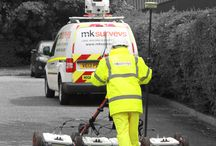 """Underground Utility Surveys - PAS128 / MK Surveys Underground Utility Tracing and Mapping division was established in 2002 and offers a wide range of services aimed at the detection, verification and location of underground utilities. All of our surveys are carried out in accordance with """"PAS 128:2014 Specification for underground utility detection, verification and location"""" published by BSI in 2014."""
