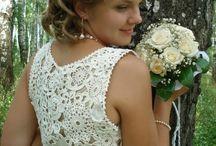 Noiva vestido de croche