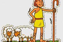 David and his lamb