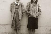 fotos antiguas raras / vestuarios vintage