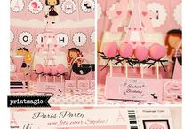 """Paris Chic Party Ideas / Say """"Oui"""" to this Chic Party!"""