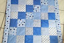 Patchwork Krabbeldecke / Babydecke genäht www.dawanda.com/shop/SigridsKreativeDinge