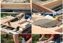 Woodfired earth oven/houtoven