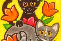 tulpen katten