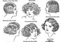 Historia hiukset