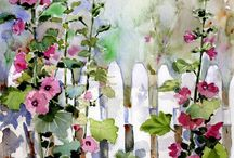 watercolours inspiration / by Kirsty Waight