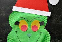 Christmas Crafts for Kids / Here is a list of 50 Crafts you can do with your kids.