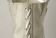 19th century Corsets,bodice and stays