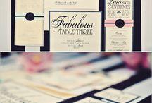 invitasjoner/visittkort / inspirasjon på grafiske detaljer