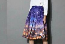 Amo saias!