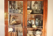 China cabinet / Old pieces updated