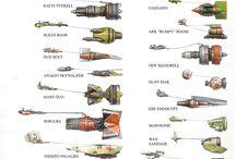 Starwars pod racers
