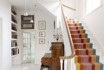 Design Inspiration: Hall & Stairs