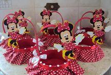 fiesta mickey minnie / Fiesta infantil inspirada en Minnie Mouse y su amigo Mickey