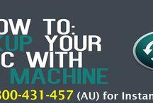 Apple Time Machine Backup Support 1-800431457 Australia