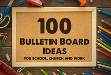 Bulletin, Sign and Display Board Ideas