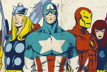 Marvel Comics / by Tommy Delor