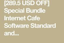 Special Bundle Internet Cafe Software Standard and Antamedia HotSpot