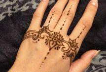 Ręka henna