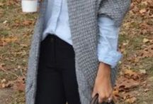gris suéter/saco