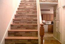 scari lemn piatta