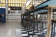 Project de Pasta Kantine / Cement tiles - Pictures of projects from our customers; Project de Pasta Kantine