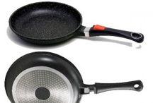 Ustensiles de cuisine Revêtement Façon Pierre / Des ustensiles de cuisine avec un revêtement en Pierre qui permet de cuisiner sans aucune matière grasse. Rien n'attache dans ces ustensiles.