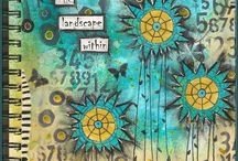 Journaling & Inspirations / Daly journaling , artful, personal and soul feeding / by RoseMary Feys