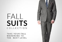 Fall Suits / Take your fall wardrobe to the next level with our New Fall Suits Collection. New wool and tweed fabrics with checkered, plaid and houndstooth patterns.