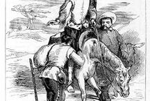 Don Quijote de la Mancha / Imágenes sobre el protagonista de una de las novelas más importantes de la literatura española, Don Quijote de la Mancha.