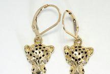 Jaguar earrings
