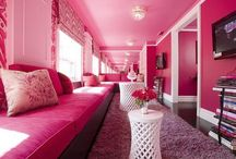 Pink Living / Dining Room & Accessories