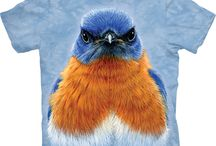 Big Face Bird T-Shirts