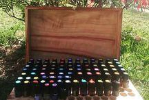 Essential oil boxes / Storage for essential oils