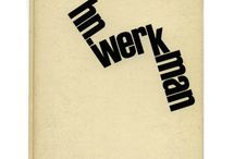 H.N. Werkman / A collection of Werkman's work, used for inspiration.
