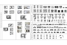 Bedroom Furniture Collection / Download this FULL Collection of over 100 2D CAD Blocks of BEDROOM FURNITURE. This CAD drawing comprises of; Wardrobes, Beds in plan view, beds in elevation view, complete bedroom interior design project drawings which includes coloured elevations plus many more furniture items