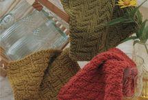 Lavettes/Essuie-mains Tricot - Dishcloths/Towels - Knitting