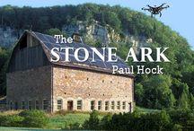 The Stone Ark / A Novel by Paul Hock