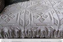 vzory háčkování a pleteni