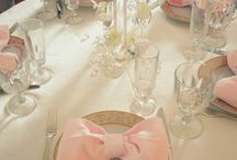 Wedding - Reception - Table setting / Centrepiece Ideas