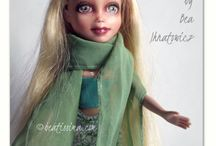 My OOAK repainted dolls / Some of the various dolls I have repainted over the years.