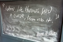 Chalkboard Wisdom / by Iron & Air